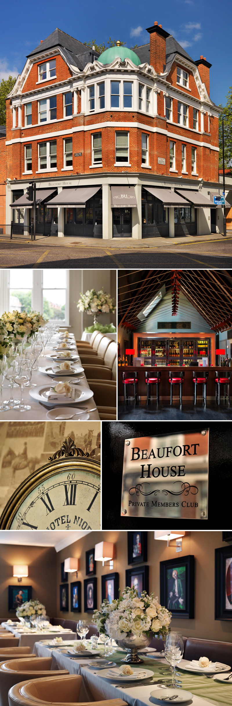 Coco Wedding Venues - Coco Collection - Beaufort House, London.