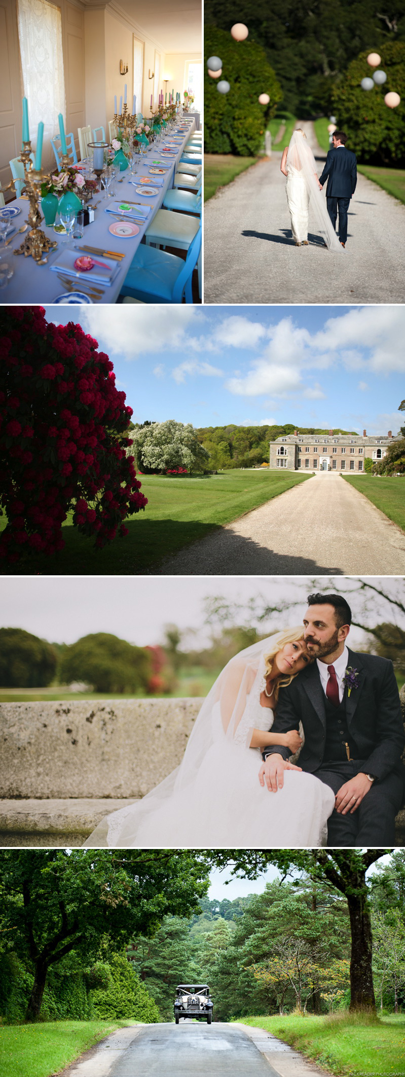 Coco Wedding Venues - The Coco Collection - Bocconoc, Cornwall.