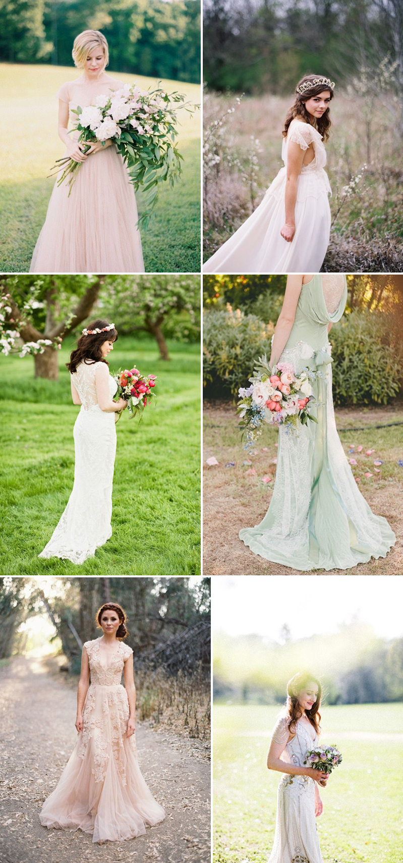 Coco Wedding Venues - Rustic Romance Wedding Style - Bridal Fashion.