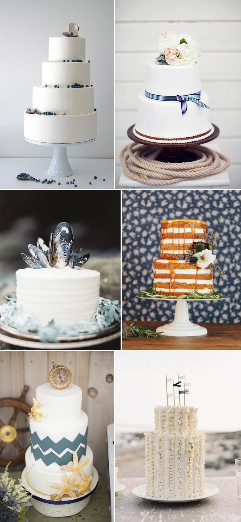 Coco Wedding Venues - Coastal Cool, Cakes.