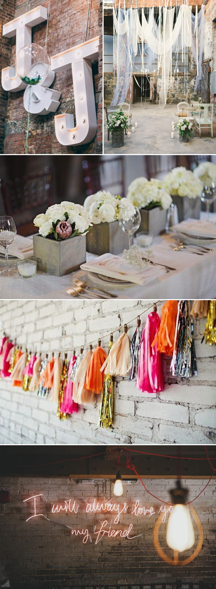 Coco Wedding Venues - City Chic Wedding Style - Decor.