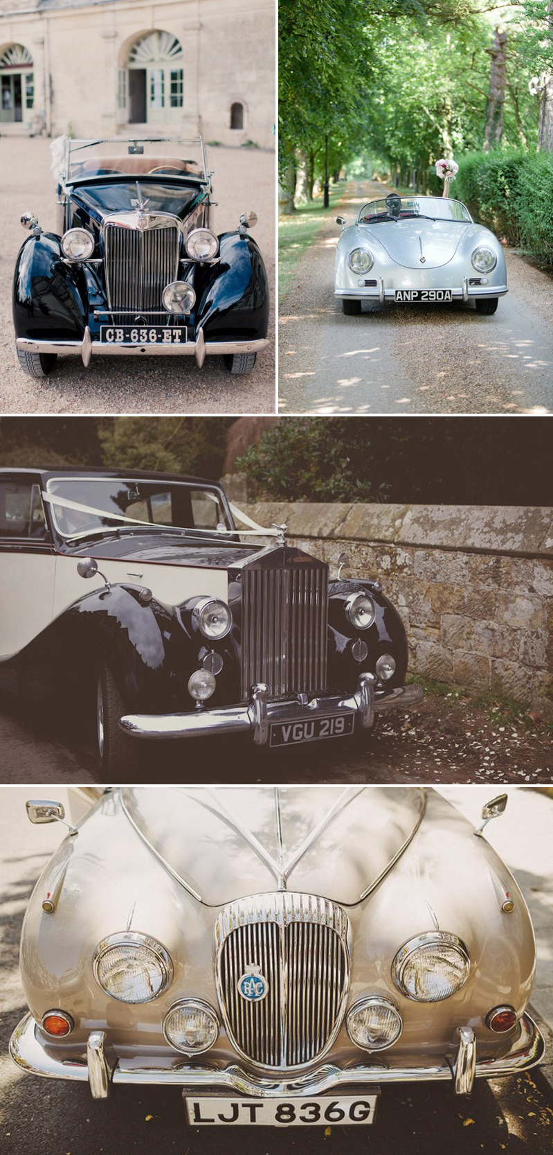 Coco Wedding Venues - Classic Elegance - Wedding Style Category - Classic Cars.