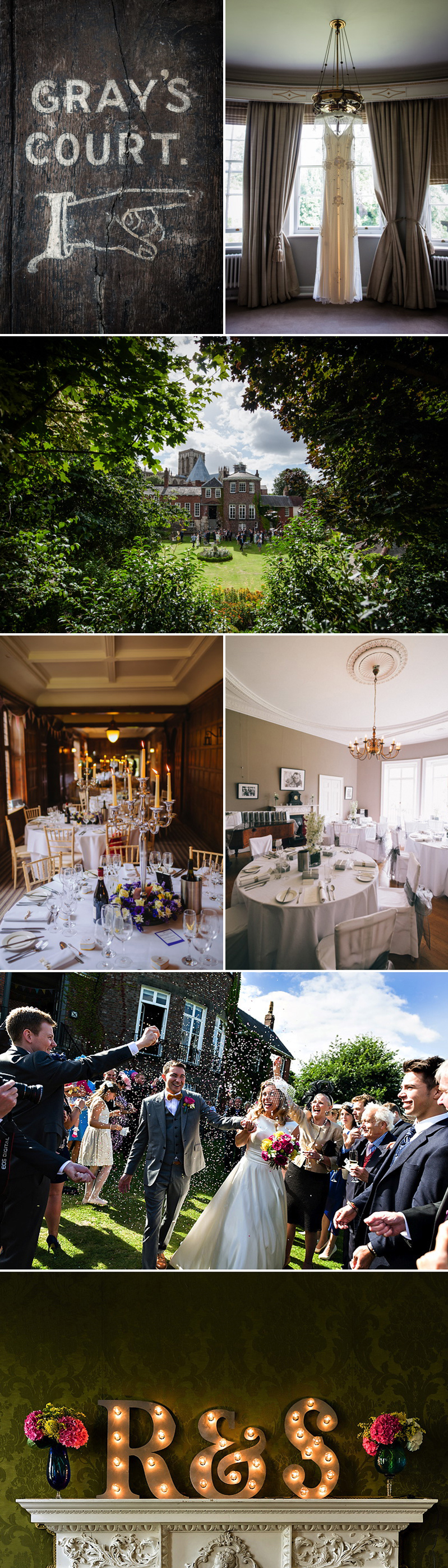 Coco Wedding Venues - Grays Court York.