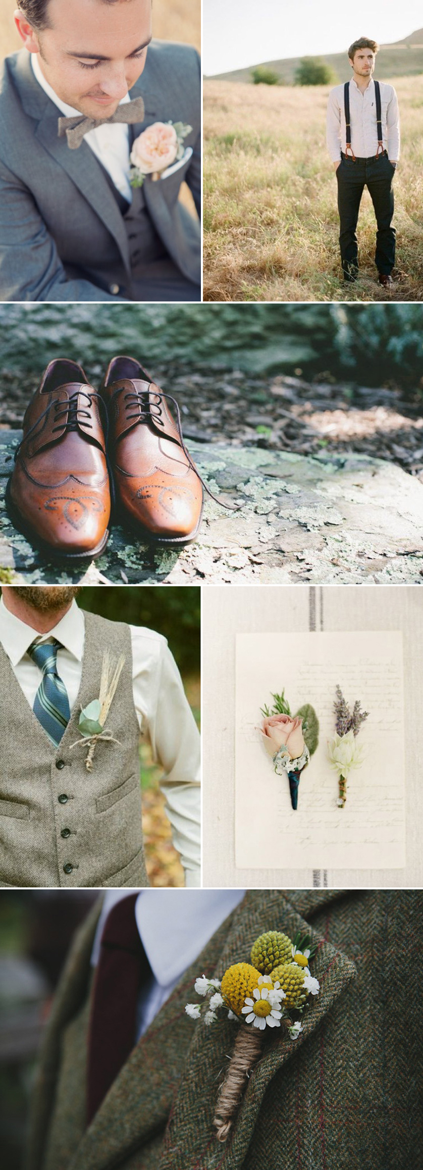 Coco Wedding Venues - Rustic Romance Wedding Style - Groom Fashion.
