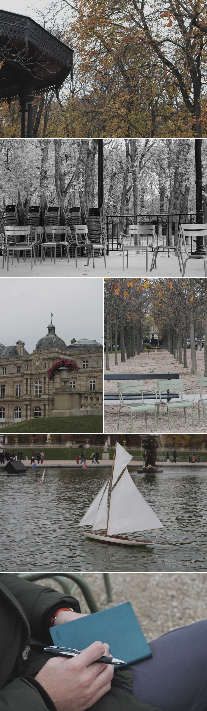 Coco Wedding Venues - Paris in the Autumn - Jardin du Luxembourg.