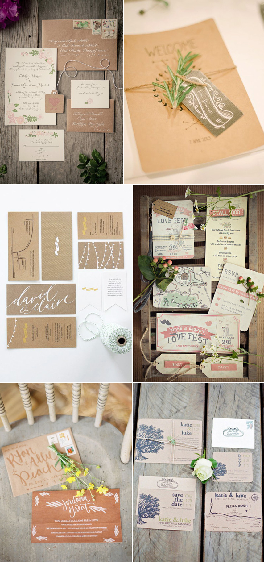 Coco Wedding Venues - Rustic Romance Wedding Style - Stationary.