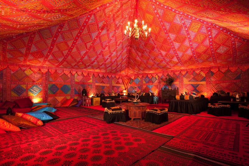 Image courtesy of The Arabian Tent Company.
