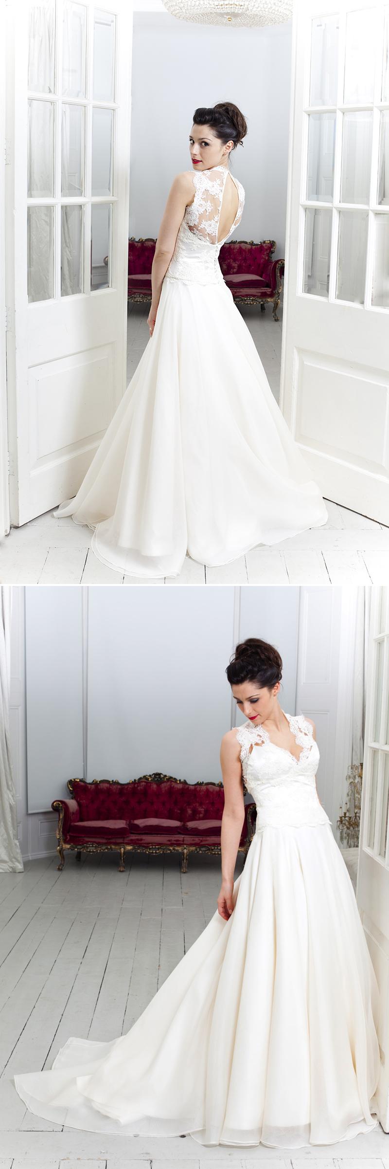 Coco Wedding Venues - Emma Hunt Luxury Bridal Sample Sale at Fulham Palace on 12th january 2014.