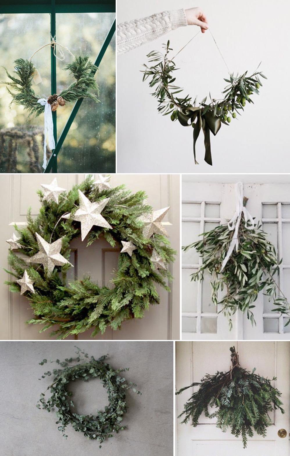 Coco Wedding Venues - Christmas Door Wreath DIY Inspiration.