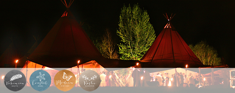 Coco Wedding Venues - Tipis Nationwide - Tentario.