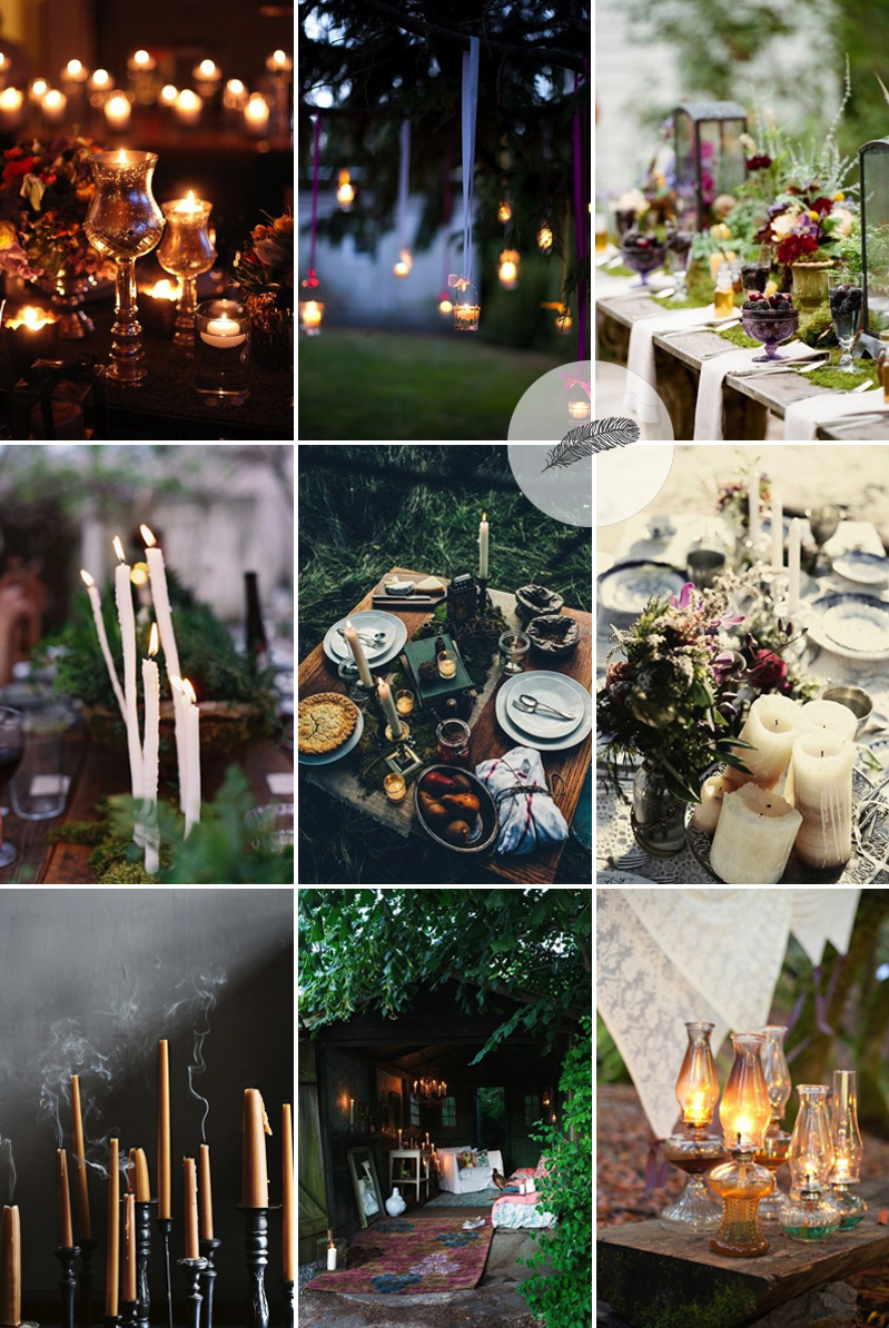 Coco Wedding Venues - Bohemian Beats Candle Inspiration.