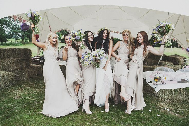 Coco Wedding Venues - A Guide to Bridesmaid Fashion Part One - Image by Anna Hardy Photography.