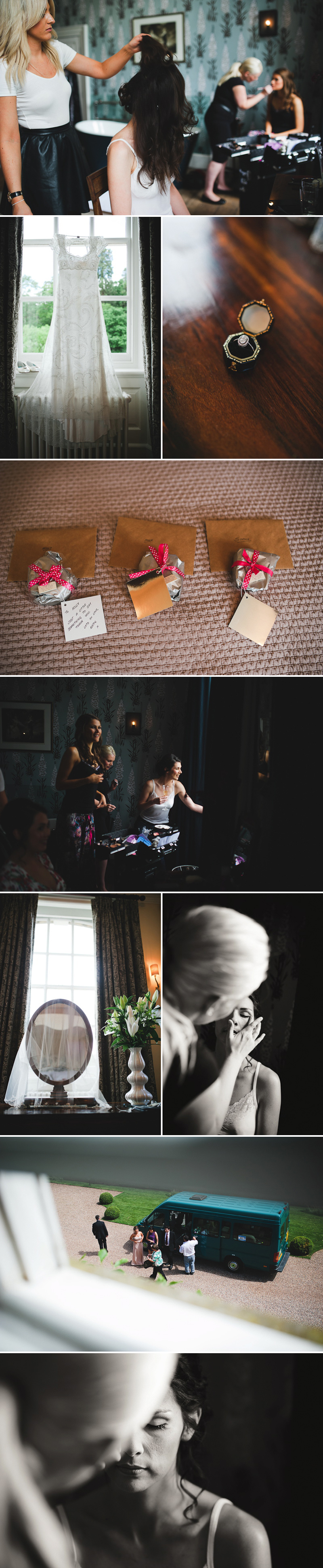 Coco Wedding Venues - Real Weddings - Iscoyd Park - Images by Kristian Leven Photography.