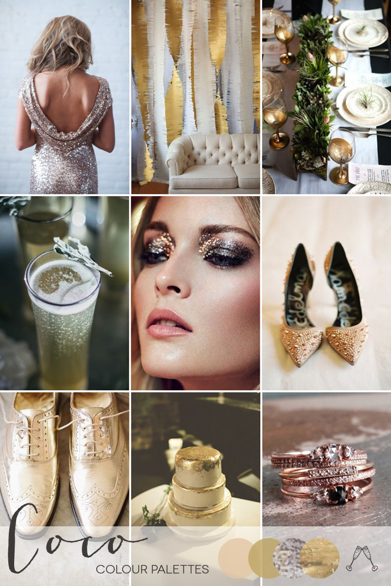 Coco Wedding Venues - Wedding Inspiration - Colour Palettes - Embellished Love.