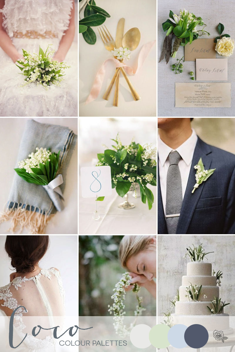 Coco Wedding Venues - Wedding Inspiration - Colour Palettes - Fresh Spring White.