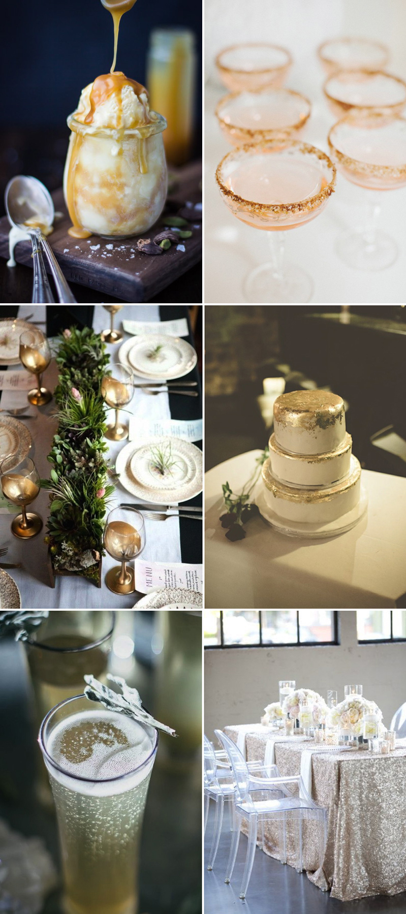 Coco Wedding Venues - Coco Colour Palette - Wedding Inspiration - Embellished Love - Wedding Feast.