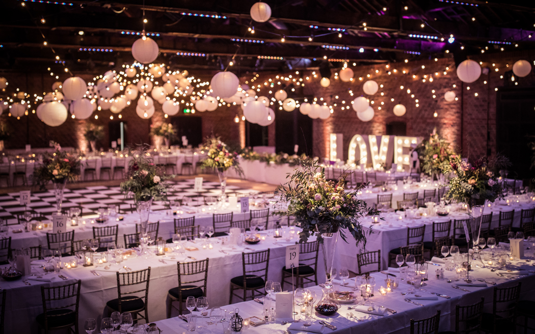 Coco wedding venues slideshow - Large Capacity Wedding Venue in London - The Brewery