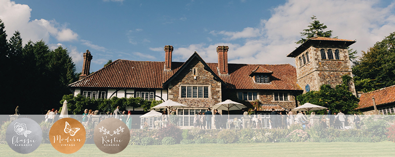 Coco Wedding Venues in Devon - Coombe Trenchard - Image by Brighton Photo.