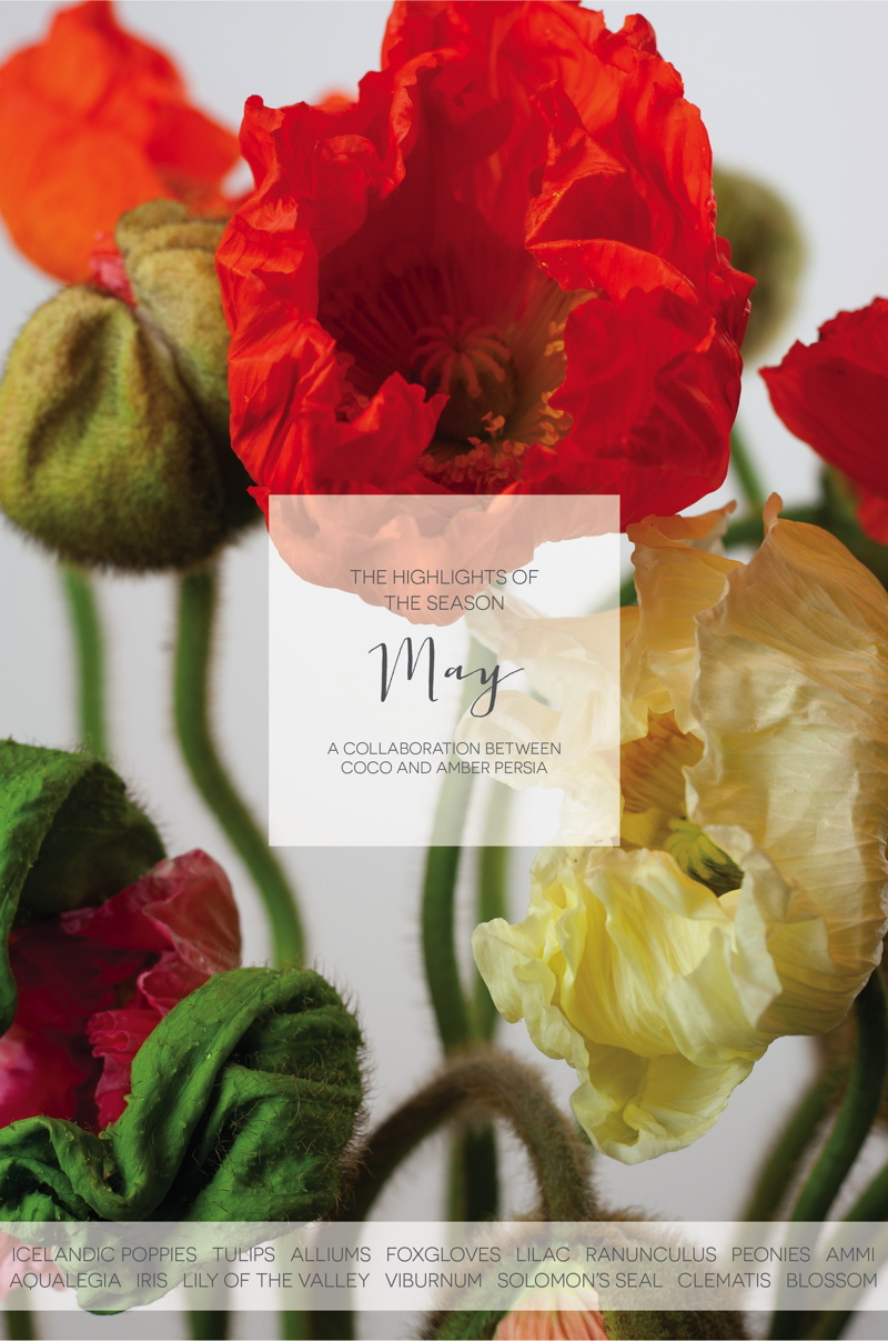 Coco Wedding Venues - Seasonal Wedding Flower Inspiration by Amber Persia Flowers & Events.