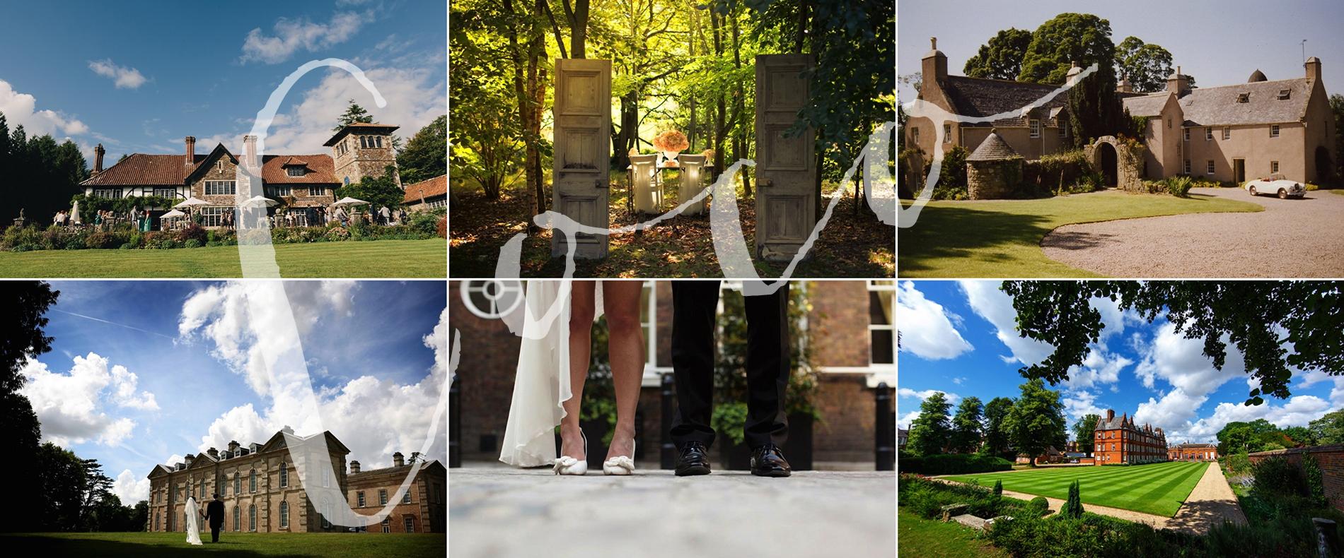 Coco Wedding Venues - Coco Collection - Collage.