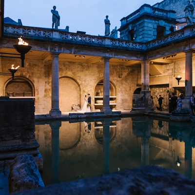 See more about Roman Baths and Pump Room wedding venue in South West