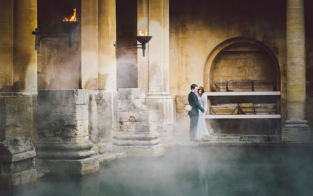 Coco wedding venues slideshow - wedding-venues-in-somerset-roman-baths-and-pump-room-mark-leonard-photography