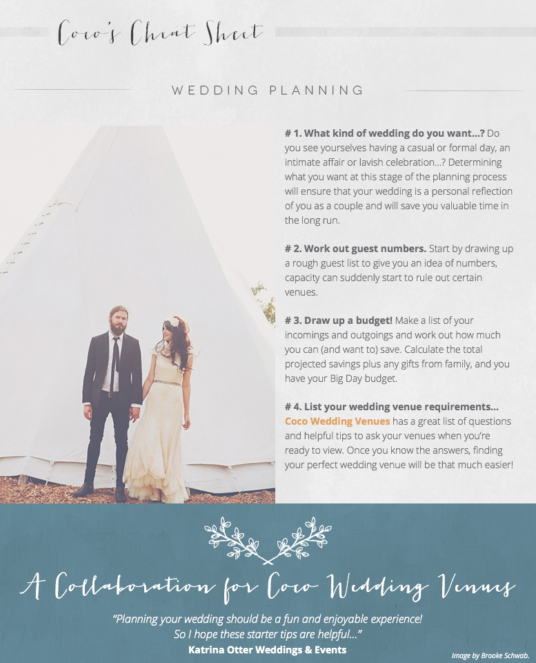 A Guide To… Wedding Planning