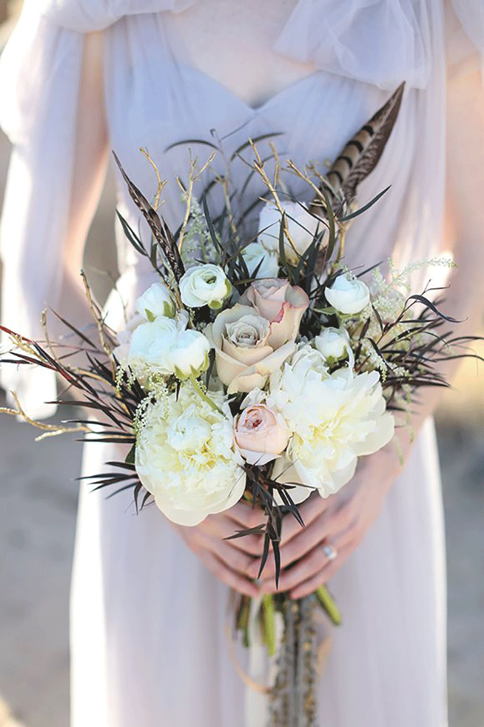 Coco wedding venues slideshow - coco-wedding-venues-bohemian-bridal-bouquets-image-by-allie-lindsay-photography-flowers-by-rsvp-events-and-floral-design-via-magnolia-rouge