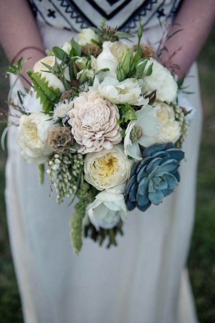 Coco wedding venues slideshow - coco-wedding-venues-bohemian-bridal-bouquets-image-by-stephanie-collins-flowers-by-petal-floral-via-100-layer-cake-99