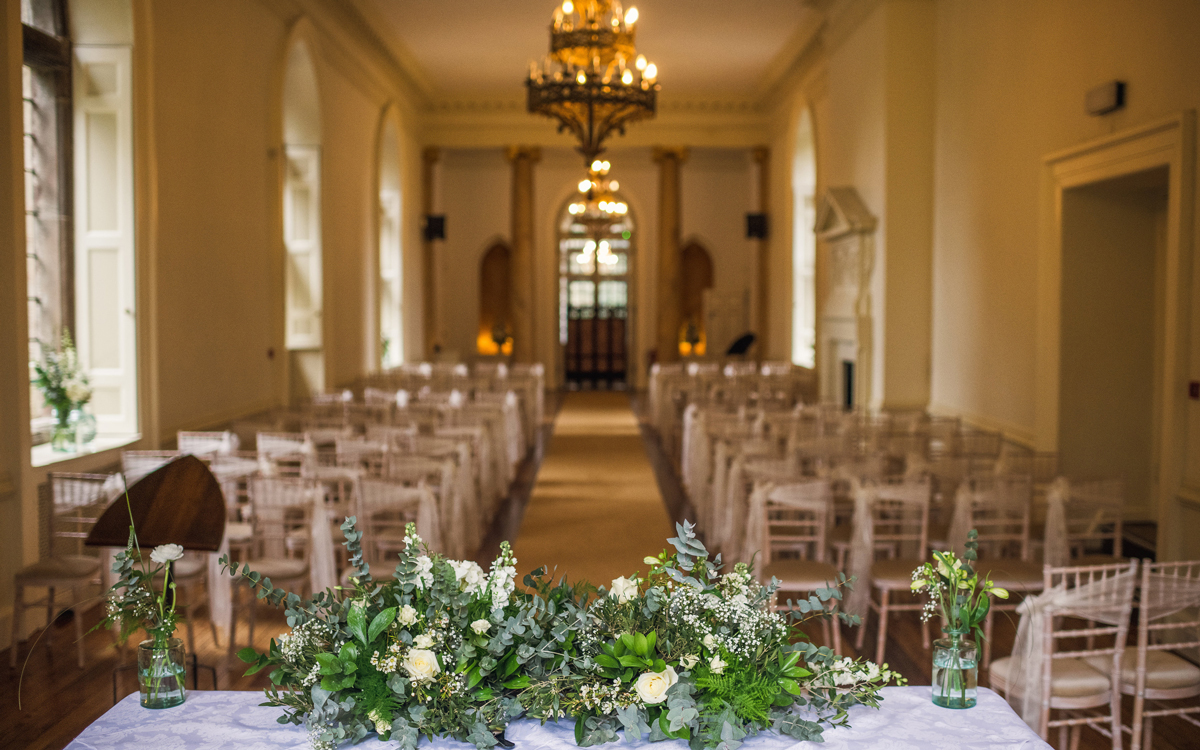 Coco wedding venues slideshow - Traditional Wedding Venue in Gloucestershire - Clearwell Castle