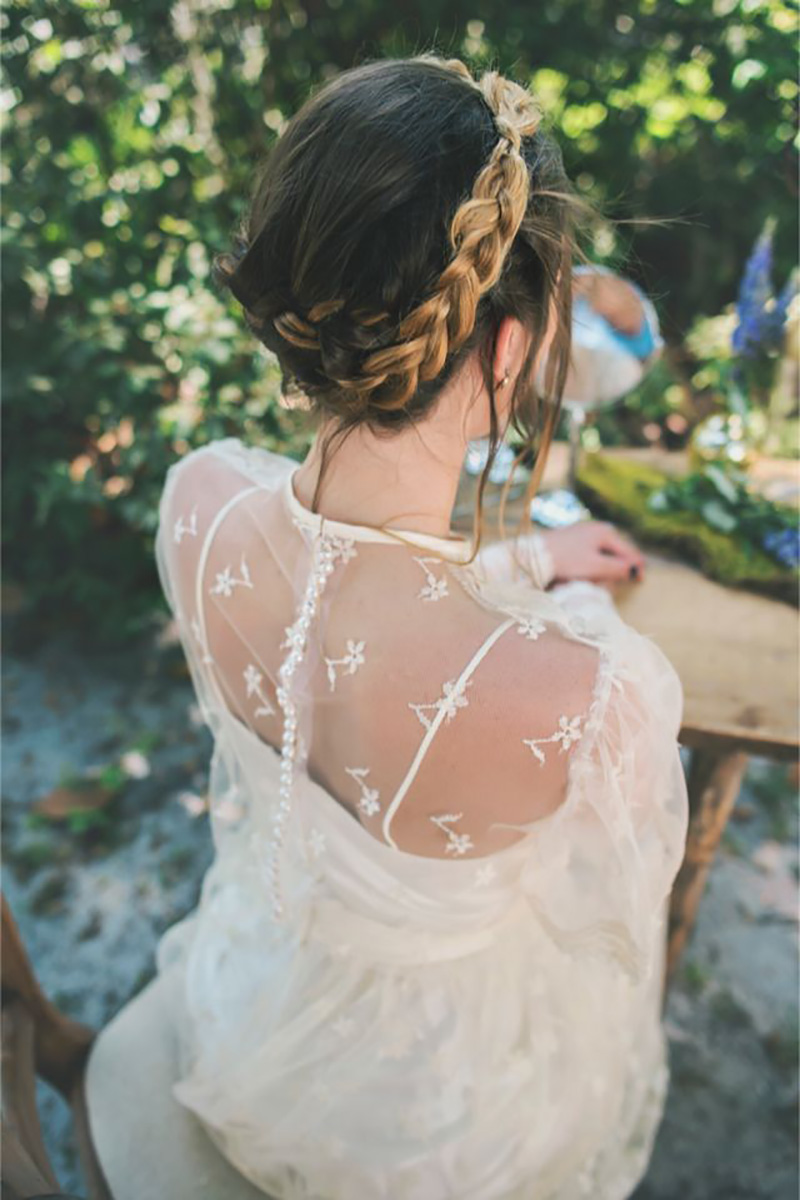 Coco wedding venues slideshow - plaits-bridal-hair-inspiration-coco-wedding-venues-hello-miss-lovely-photography-via-burnetts-boards-6