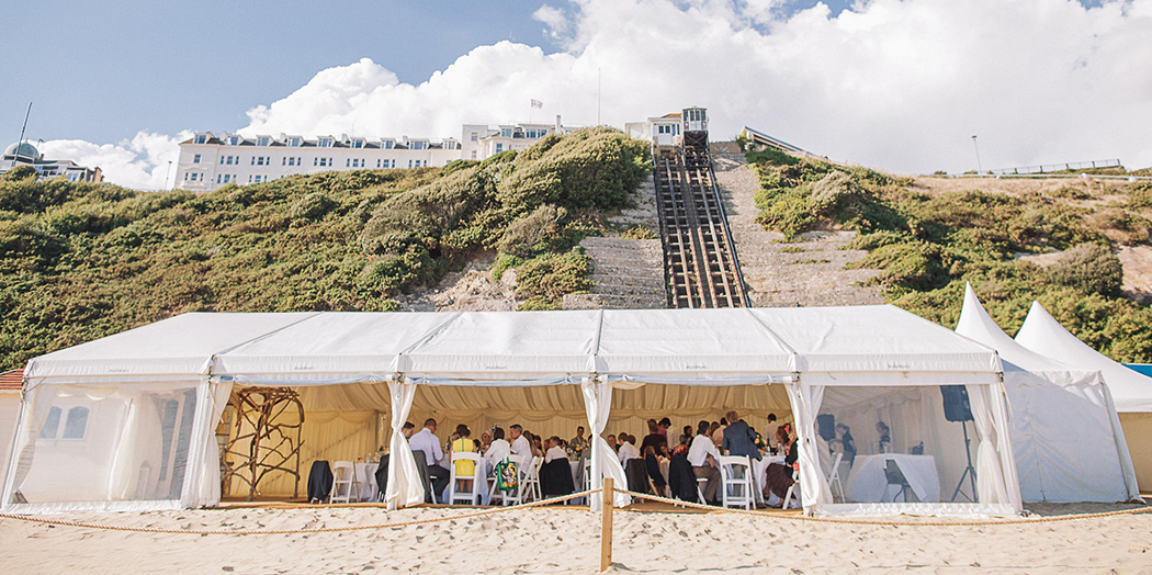 Beach Weddings Bournemouth Spring Open Day Uk Wedding Venues Directory