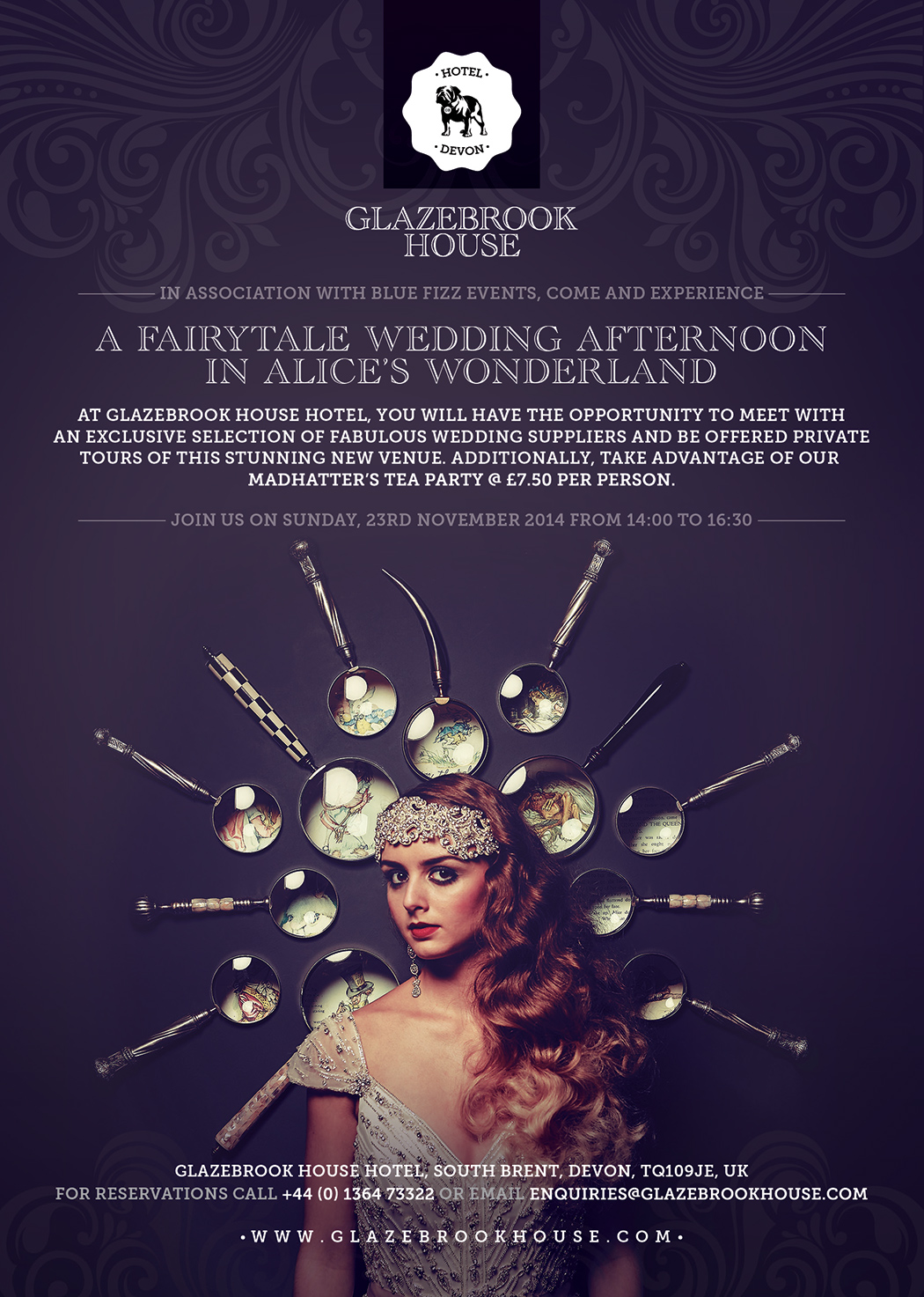 wedding-venues-in-devon-glazebrook-house-hotel-coco-wedding-venues-luxury-boutique-hotel-events-poster