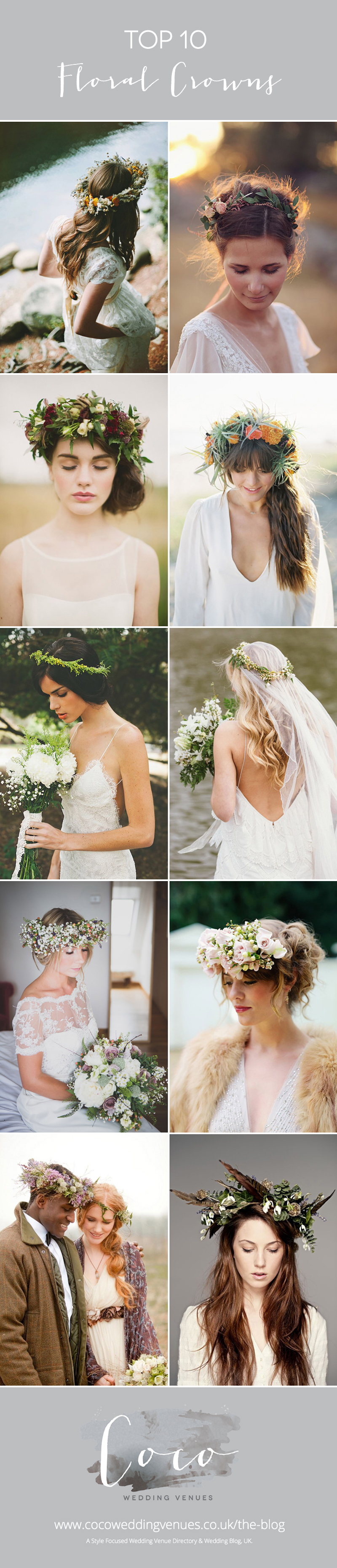 10-floral-crowns-bridal-inspiration-coco-wedding-venues-pinterest