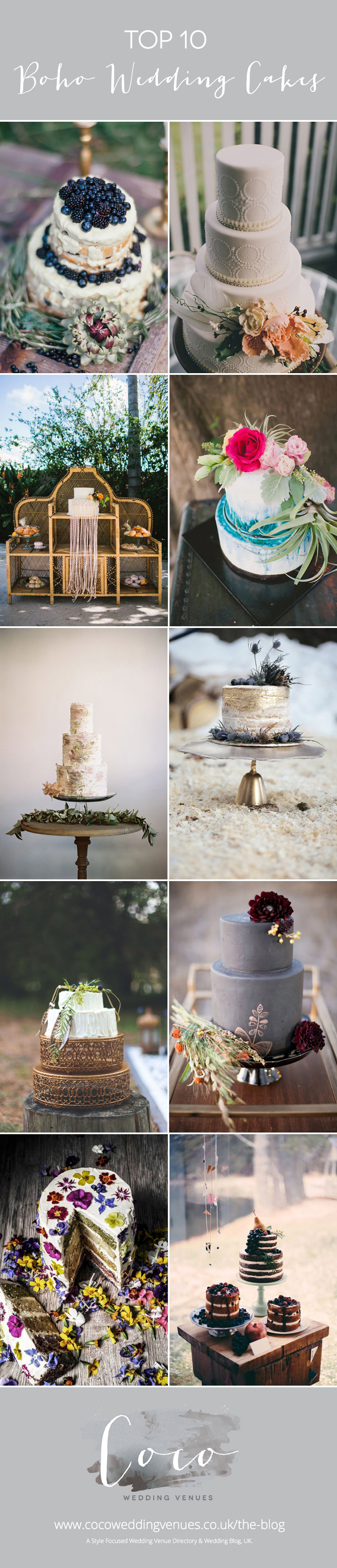 top-10-boho-wedding-cake-inspiration-coco-wedding-venues-pin-it