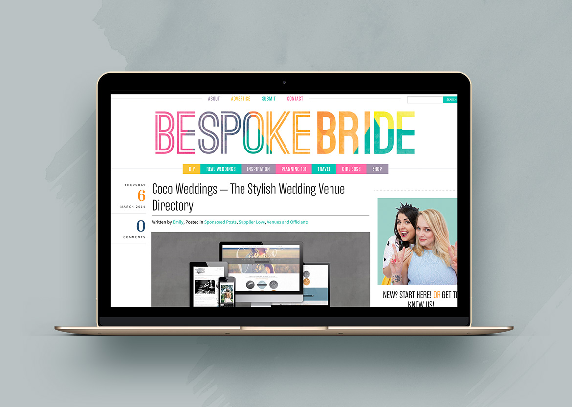 Coco press - Bespoke Bride