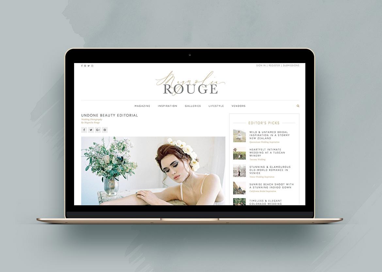 Coco press - Magnolia Rouge