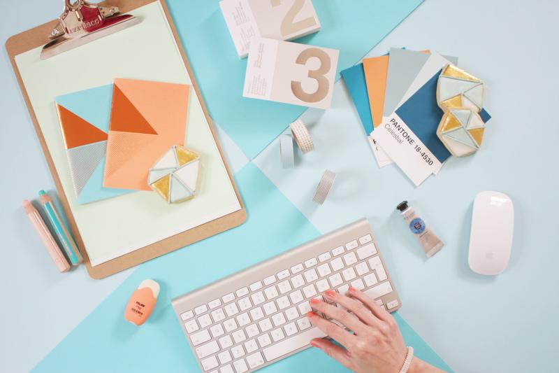 Stationery desk by CKC Photography