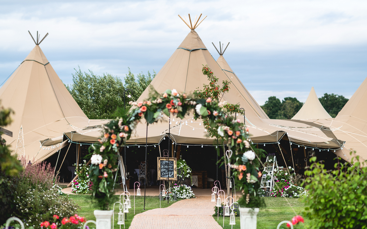 Coco wedding venues slideshow - Tipi Weddings in West Midlands - Tipi Hire Midlands - Sami Tipi