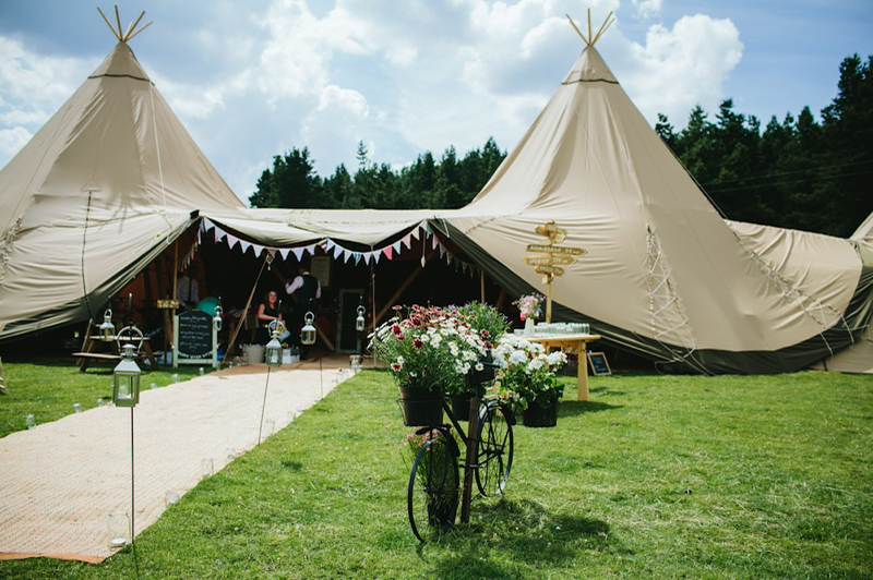 buy popular 7a78d 70923 Coco Welcomes… Sami Tipi | UK Wedding Venues Directory