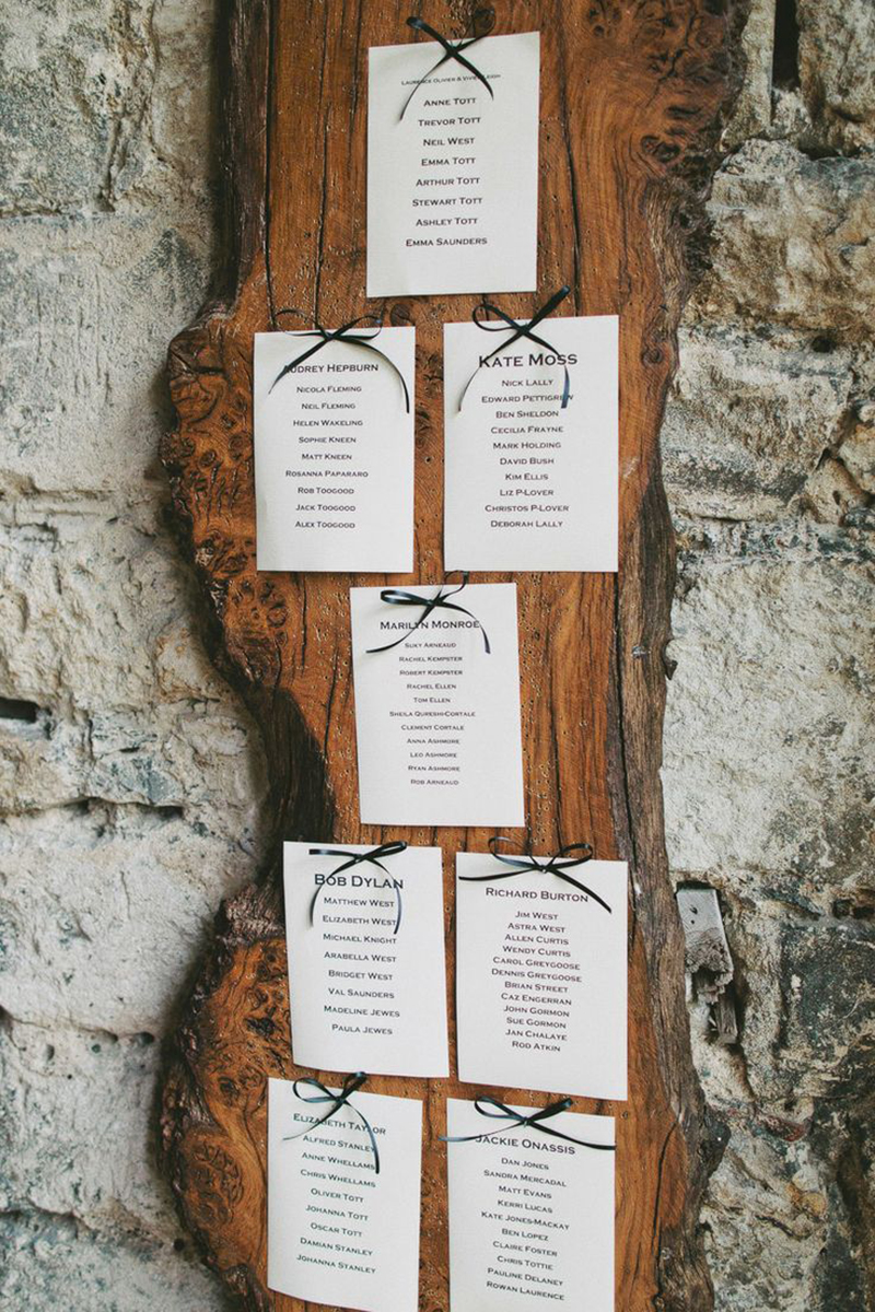Coco wedding venues slideshow - 10-rustic-tableplans-coco-wedding-venues-2