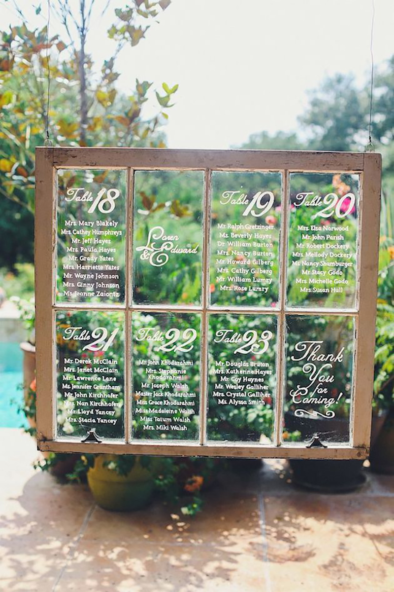 Coco wedding venues slideshow - 10-rustic-tableplans-coco-wedding-venues-5