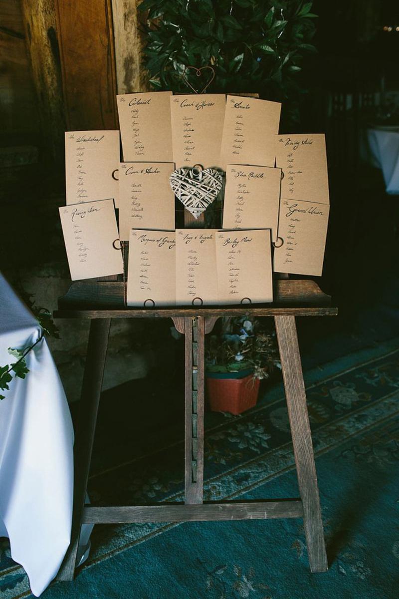 Coco wedding venues slideshow - 10-rustic-tableplans-coco-wedding-venues-8