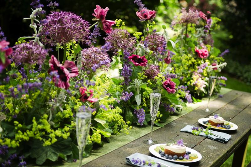 June Wedding Flowers At Swanton Morley House & Gardens