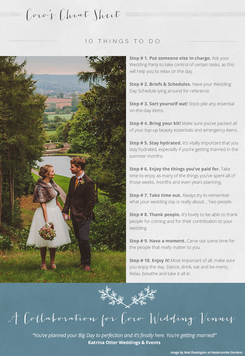 wedding-planning-tips-10-things-to-do-on-your-wedding-day-cheat-sheet