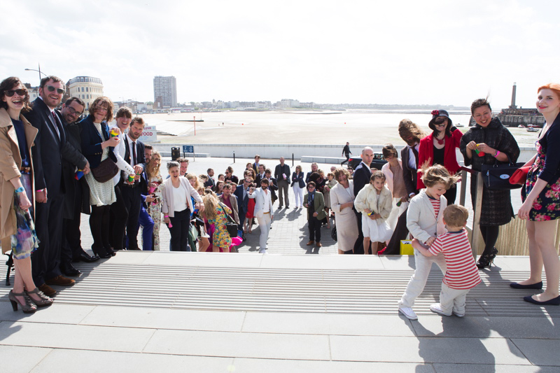 Coco wedding venues slideshow - wedding-venues-in-kent-turner-contemporary-henry-and-jo-2