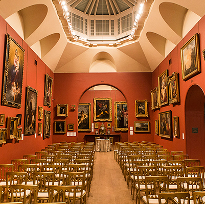 See more about Dulwich Picture Gallery wedding venue in South London,  London