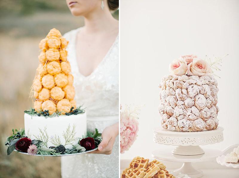Coco wedding venues slideshow - 10-cake-alternatives-croquembouche