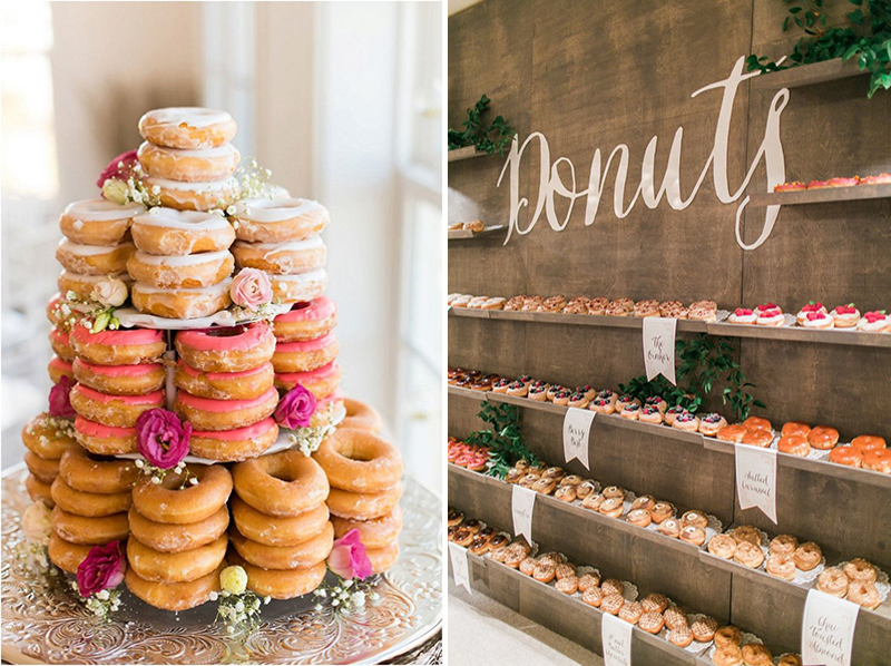 Coco wedding venues slideshow - 10-cake-alternatives-donuts
