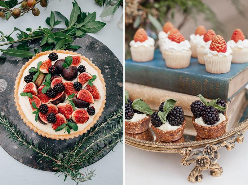 Coco wedding venues slideshow - 10-cake-alternatives-tarts